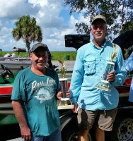Iler/Cruce with 2015/2016 Bassmaster of the Year Trophies