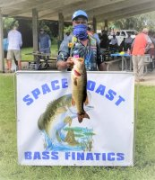 Buddy Perry with a 8.40 lb Big Bass at Lake Washington on 7-26-2020