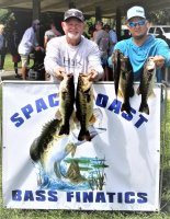 Mike Neal and Justin Sonnier with 16.19 lbs and 2nd place at Lake Washington 7-26-2020