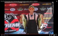 Jack Berry with part of Blount/Berry 5 Fish Limit at 2016 FSTC