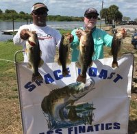 Mike Calloway and William Flood on Lake Okeechobee March 2021