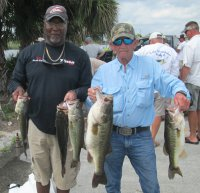 Biles/Barber with 22.09 tournament best stringer at Lake Okeechobee 2014-03-23