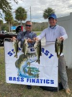 Brian Cole and Erick Pickton with 10.50 pounds on The Harris Chain 11/22/2020