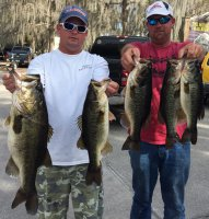 Hinman/Lee with 17.94 for 1st at Lake Cypress on 2015-02-22