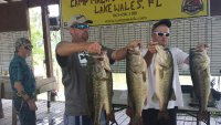 Matt Hinman and Andrew Lee with 39.65 at Xtreme Bass Series event on Kissimmee Chain 2014-06-08