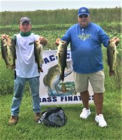 Jay Stein and (Alt.) George Short with 17.56 lbs and 1st place at Miami-Garcia 6-28-2020