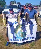 Junior Solis and Brian Wical 1st place with 39.33 lbs on Lake Okeechobee 3/28-29/2020
