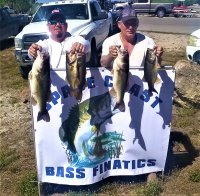 Justic Koether and Alan Hough 2nd place with 28.12 lbs on Lake Okeechobee 3/28-29/2020