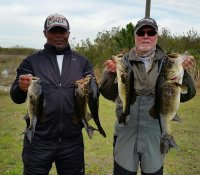 William Flood and Mike Calloway first place 14.28 lbs at east lake toho