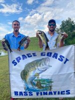 Spencer Weisner and Jordan Mcilvain with 6.72 lbs. on East Lake Toho 9/27/20