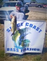 Truman Patterson with Big Bass day 1 at Okeechobee 7.21 lbs