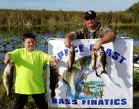 Zack and Raymond Taylor with 15.40 lbs and 1st place at Miami-Garcia 1-26-20