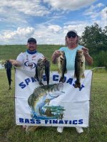Raymond Taylor and Clyde Taylor with 16.23 pounds on East Lake Toho 9/27/20