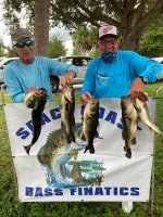 1Tom Southwick and Bob Barnette with 21.57 pounds on Lake Poinsett 10/25/2020