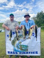 Rick Jenkins and Joe Jenkins with 13.31 pounds on East Lake Toho 9/27/20