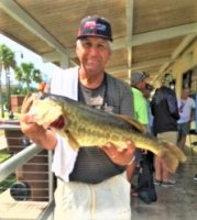 Bill Groseclose with a 8.35 lb Tournament Big Bass on West Lake Toho 5-31-2020