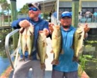 Brian Wical and Junior Solis 3rd place with 19.82 lbs at West Lkae Toho on 5-31-2020