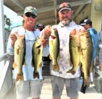 Greg Clark and Rob Branaugh 2nd place with 20.74 lbs on West Lake Toho 5-31-2020
