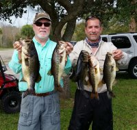 2015-12-13 Calloway/Semonski With 14.64 lbs for 1st Place at Blue Cypress Lake