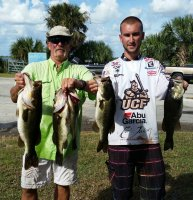 2015-10-25 Jenkins/Brandes With 17.12 lbs for 1st Place at Lake Kissimmee